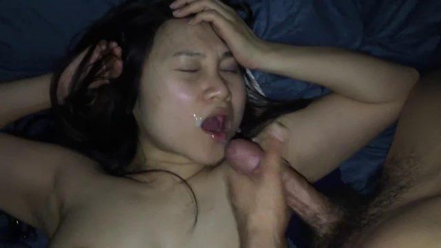 Pinutok ang tamod sa mukha